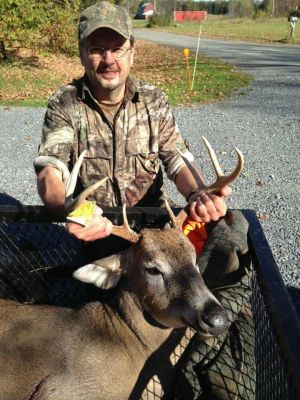 Recent Personal Trophy taken during Muzzle Loader Season